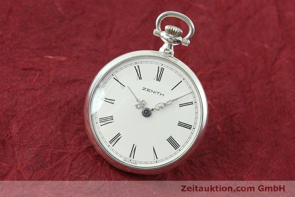 Used luxury watch Zenith Taschenuhr silver manual winding Kal. 2320  | 152356 04