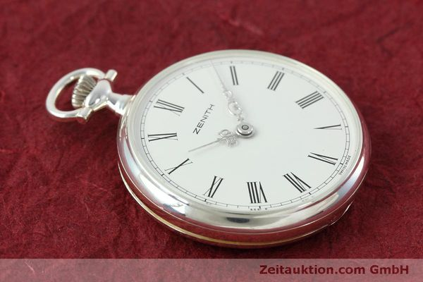 Used luxury watch Zenith Taschenuhr silver manual winding Kal. 2320  | 152356 05