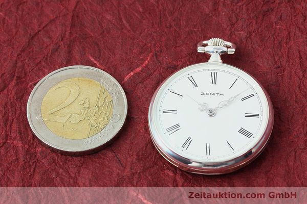 Used luxury watch Zenith Taschenuhr silver manual winding Kal. 2320  | 152356 14
