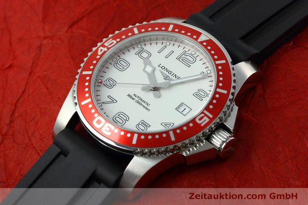 Used luxury watch Longines Hydro Conquest steel automatic Kal. L619.2 ETA 2892A2 Ref. L3.695.4  | 152365 01