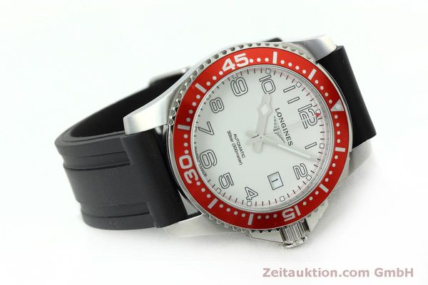 Used luxury watch Longines Hydro Conquest steel automatic Kal. L619.2 ETA 2892A2 Ref. L3.695.4  | 152365 03