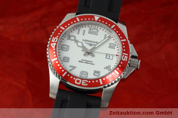 Used luxury watch Longines Hydro Conquest steel automatic Kal. L619.2 ETA 2892A2 Ref. L3.695.4  | 152365 04