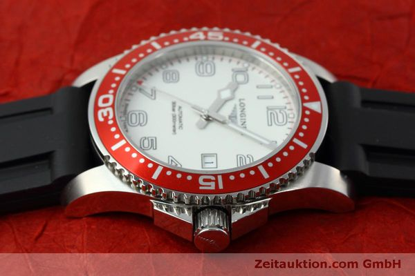 Used luxury watch Longines Hydro Conquest steel automatic Kal. L619.2 ETA 2892A2 Ref. L3.695.4  | 152365 05