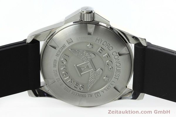 Used luxury watch Longines Hydro Conquest steel automatic Kal. L619.2 ETA 2892A2 Ref. L3.695.4  | 152365 09