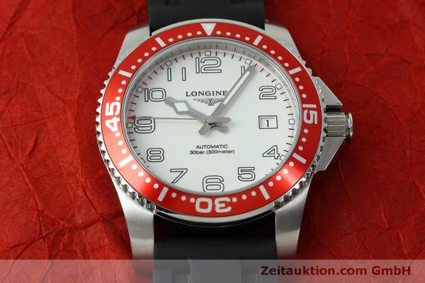 Used luxury watch Longines Hydro Conquest steel automatic Kal. L619.2 ETA 2892A2 Ref. L3.695.4  | 152365 16