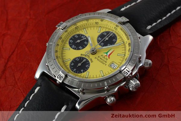 Used luxury watch Breitling Chronomat chronograph steel automatic Kal. B13 ETA 7750 Ref. A13050.1 LIMITED EDITION | 152367 01