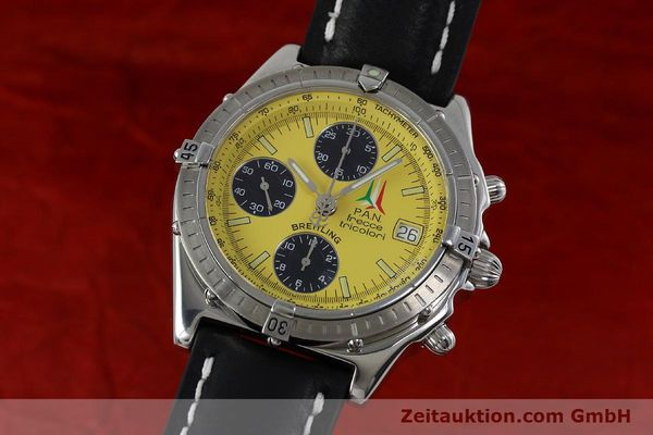 Used luxury watch Breitling Chronomat chronograph steel automatic Kal. B13 ETA 7750 Ref. A13050.1 LIMITED EDITION | 152367 04