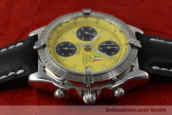 Used luxury watch Breitling Chronomat chronograph steel automatic Kal. B13 ETA 7750 Ref. A13050.1 LIMITED EDITION | 152367 05