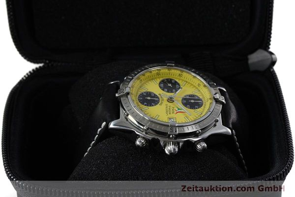 Used luxury watch Breitling Chronomat chronograph steel automatic Kal. B13 ETA 7750 Ref. A13050.1 LIMITED EDITION | 152367 07