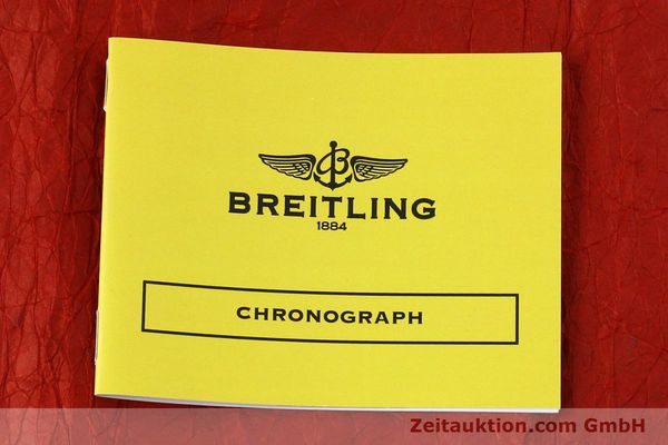 Used luxury watch Breitling Chronomat chronograph steel automatic Kal. B13 ETA 7750 Ref. A13050.1 LIMITED EDITION | 152367 12