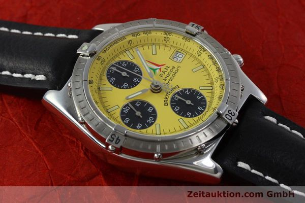 Used luxury watch Breitling Chronomat chronograph steel automatic Kal. B13 ETA 7750 Ref. A13050.1 LIMITED EDITION | 152367 15