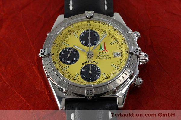 Used luxury watch Breitling Chronomat chronograph steel automatic Kal. B13 ETA 7750 Ref. A13050.1 LIMITED EDITION | 152367 16