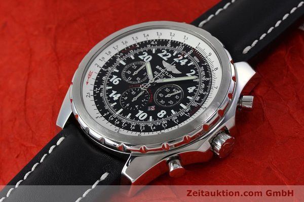 Used luxury watch Breitling Bentley chronograph steel automatic Kal. B22 ETA 2892A2 Ref. A22362 LIMITED EDITION | 152370 01
