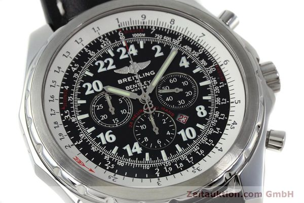 Used luxury watch Breitling Bentley chronograph steel automatic Kal. B22 ETA 2892A2 Ref. A22362 LIMITED EDITION | 152370 02
