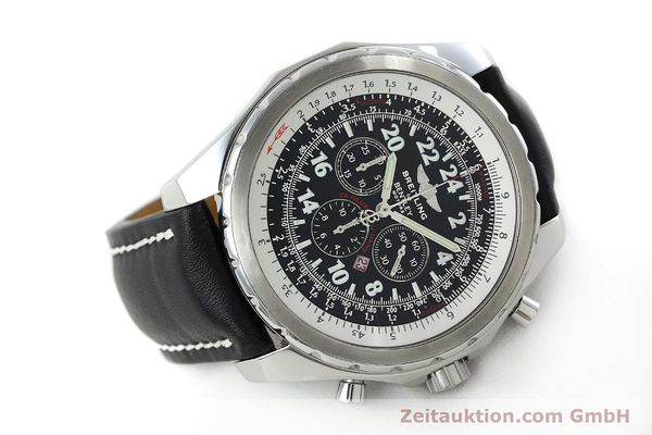 Used luxury watch Breitling Bentley chronograph steel automatic Kal. B22 ETA 2892A2 Ref. A22362 LIMITED EDITION | 152370 03
