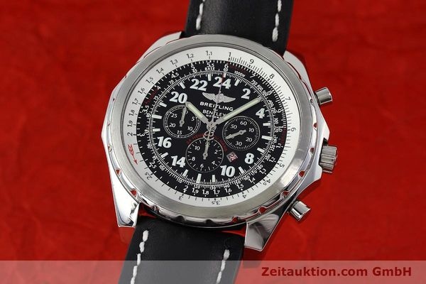 Used luxury watch Breitling Bentley chronograph steel automatic Kal. B22 ETA 2892A2 Ref. A22362 LIMITED EDITION | 152370 04