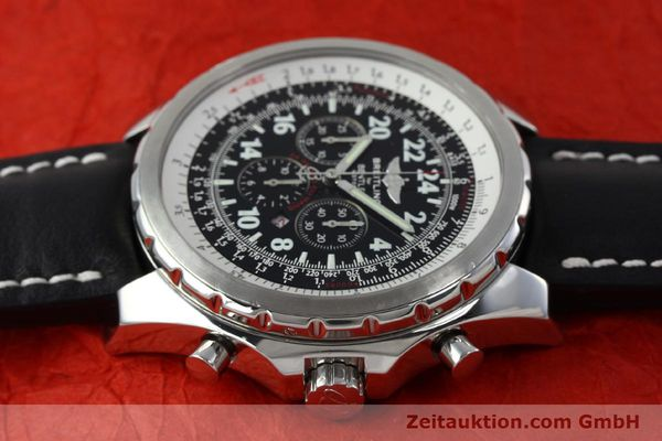 Used luxury watch Breitling Bentley chronograph steel automatic Kal. B22 ETA 2892A2 Ref. A22362 LIMITED EDITION | 152370 05