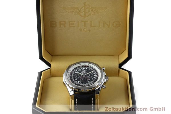 Used luxury watch Breitling Bentley chronograph steel automatic Kal. B22 ETA 2892A2 Ref. A22362 LIMITED EDITION | 152370 07