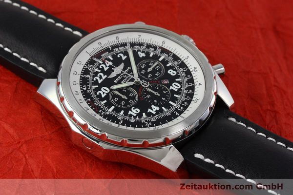 Used luxury watch Breitling Bentley chronograph steel automatic Kal. B22 ETA 2892A2 Ref. A22362 LIMITED EDITION | 152370 12