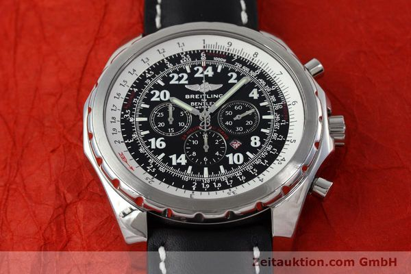 Used luxury watch Breitling Bentley chronograph steel automatic Kal. B22 ETA 2892A2 Ref. A22362 LIMITED EDITION | 152370 13