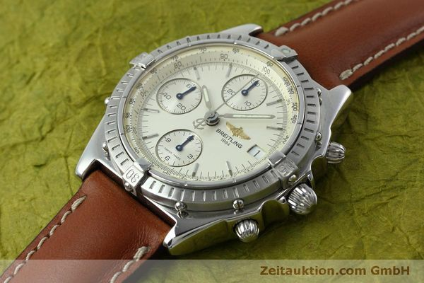 Used luxury watch Breitling Chronomat chronograph steel automatic Kal. B13 ETA 7750 Ref. A13050 LIMITED EDITION | 152371 01
