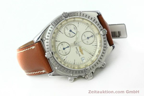 Used luxury watch Breitling Chronomat chronograph steel automatic Kal. B13 ETA 7750 Ref. A13050 LIMITED EDITION | 152371 03