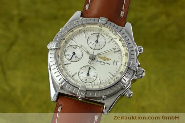 Used luxury watch Breitling Chronomat chronograph steel automatic Kal. B13 ETA 7750 Ref. A13050 LIMITED EDITION | 152371 04