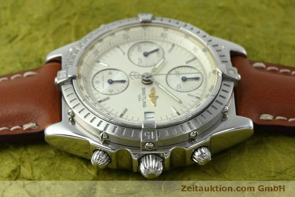 Used luxury watch Breitling Chronomat chronograph steel automatic Kal. B13 ETA 7750 Ref. A13050 LIMITED EDITION | 152371 05