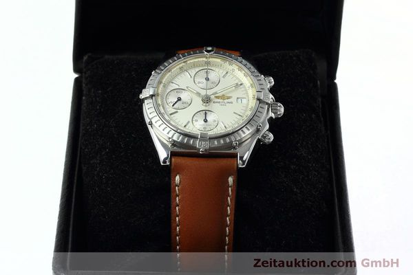 Used luxury watch Breitling Chronomat chronograph steel automatic Kal. B13 ETA 7750 Ref. A13050 LIMITED EDITION | 152371 07