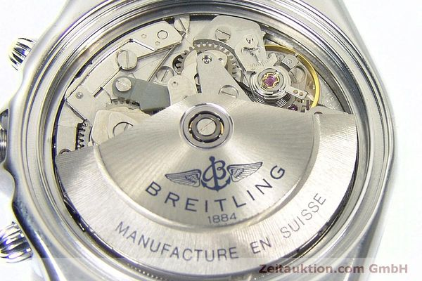 Used luxury watch Breitling Chronomat chronograph steel automatic Kal. B13 ETA 7750 Ref. A13050 LIMITED EDITION | 152371 10