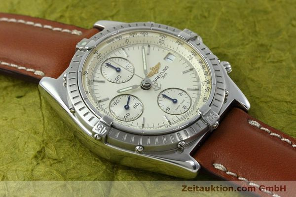 Used luxury watch Breitling Chronomat chronograph steel automatic Kal. B13 ETA 7750 Ref. A13050 LIMITED EDITION | 152371 14