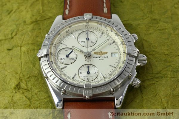 Used luxury watch Breitling Chronomat chronograph steel automatic Kal. B13 ETA 7750 Ref. A13050 LIMITED EDITION | 152371 15