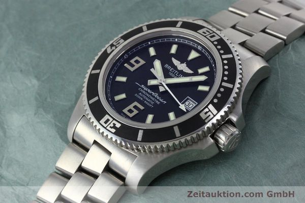 Used luxury watch Breitling Superocean steel automatic Kal. B17 ETA 2824-2 Ref. A17391  | 152372 01