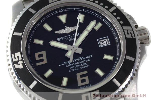 Used luxury watch Breitling Superocean steel automatic Kal. B17 ETA 2824-2 Ref. A17391  | 152372 02
