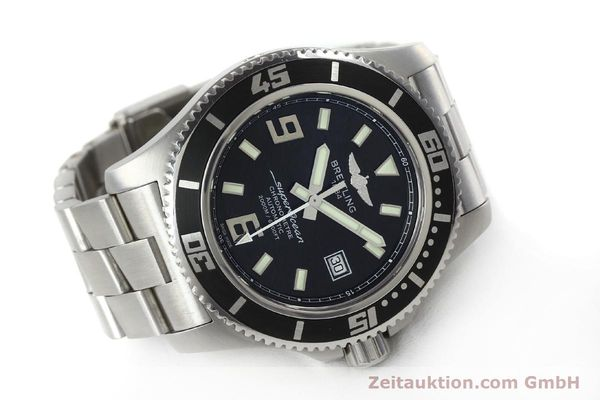 Used luxury watch Breitling Superocean steel automatic Kal. B17 ETA 2824-2 Ref. A17391  | 152372 03