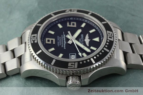 Used luxury watch Breitling Superocean steel automatic Kal. B17 ETA 2824-2 Ref. A17391  | 152372 05