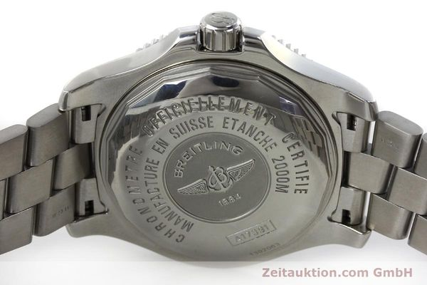 Used luxury watch Breitling Superocean steel automatic Kal. B17 ETA 2824-2 Ref. A17391  | 152372 09