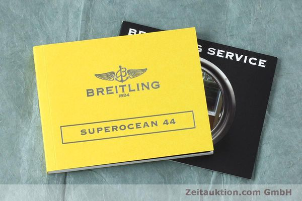 Used luxury watch Breitling Superocean steel automatic Kal. B17 ETA 2824-2 Ref. A17391  | 152372 15