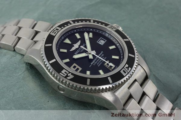 Used luxury watch Breitling Superocean steel automatic Kal. B17 ETA 2824-2 Ref. A17391  | 152372 17