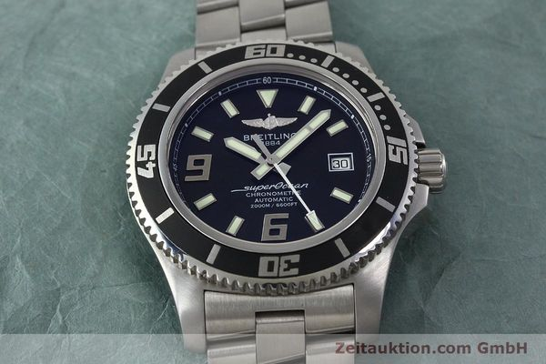Used luxury watch Breitling Superocean steel automatic Kal. B17 ETA 2824-2 Ref. A17391  | 152372 18