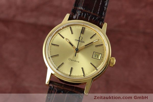 Used luxury watch Omega * gold-plated manual winding Kal. 613 VINTAGE  | 152373 04