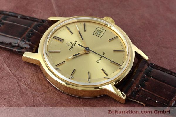 Used luxury watch Omega * gold-plated manual winding Kal. 613 VINTAGE  | 152373 14