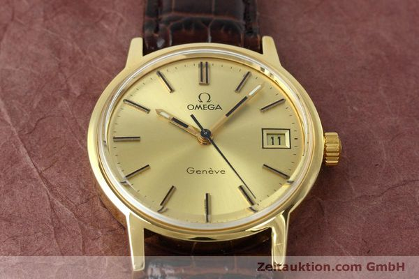 Used luxury watch Omega * gold-plated manual winding Kal. 613 VINTAGE  | 152373 15