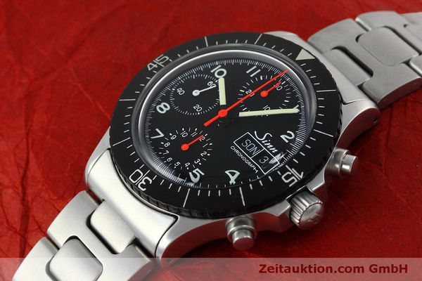 Used luxury watch Sinn 256 chronograph steel automatic Kal. ETA 7750 Ref. 256.1055  | 152378 01