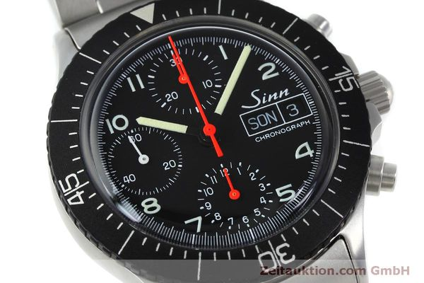 Used luxury watch Sinn 256 chronograph steel automatic Kal. ETA 7750 Ref. 256.1055  | 152378 02
