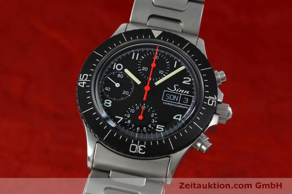 Used luxury watch Sinn 256 chronograph steel automatic Kal. ETA 7750 Ref. 256.1055  | 152378 04