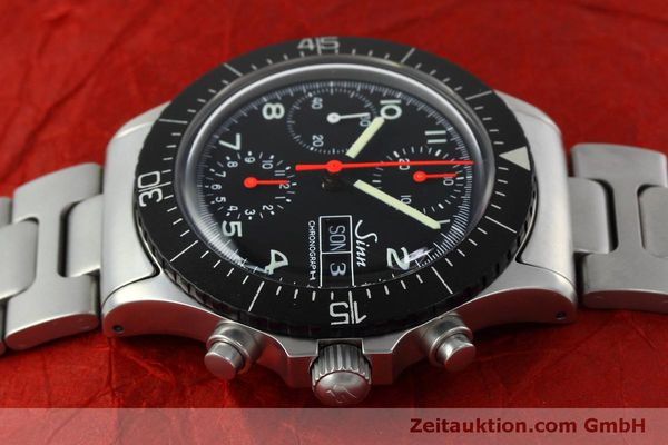 Used luxury watch Sinn 256 chronograph steel automatic Kal. ETA 7750 Ref. 256.1055  | 152378 05