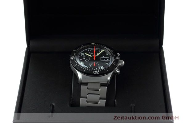 Used luxury watch Sinn 256 chronograph steel automatic Kal. ETA 7750 Ref. 256.1055  | 152378 07