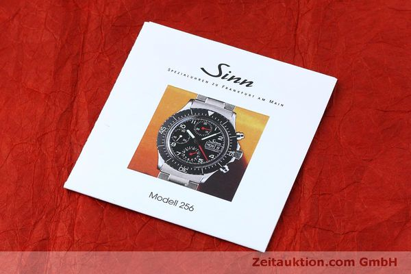 Used luxury watch Sinn 256 chronograph steel automatic Kal. ETA 7750 Ref. 256.1055  | 152378 11