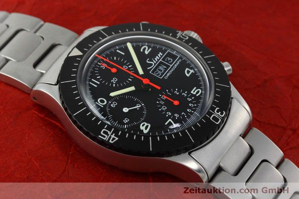 Used luxury watch Sinn 256 chronograph steel automatic Kal. ETA 7750 Ref. 256.1055  | 152378 13